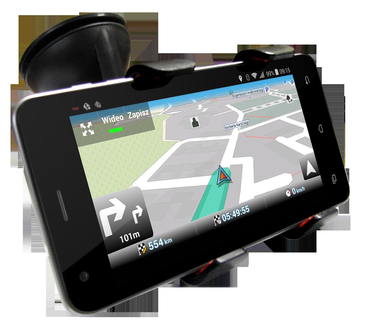 Nawigacja mapFactor na Nexo Handy